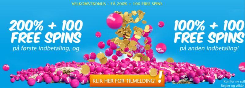 Free spins til nye spilleautomater på Vera&John Casino