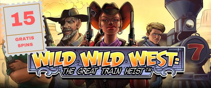 15 Wild Wild West gratis spins til alle danske casinospillere