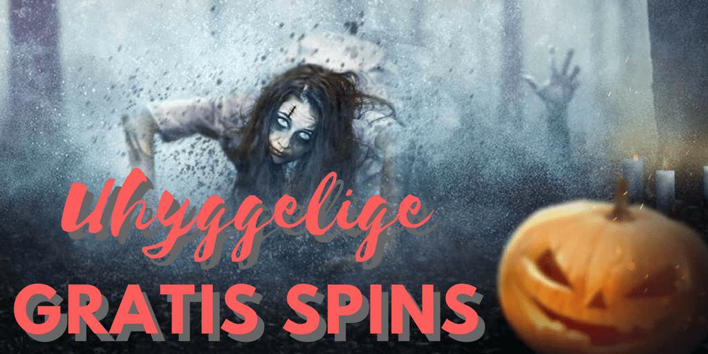 Uhyggelige Halloween Spins og Skræmmende Casinobonusser