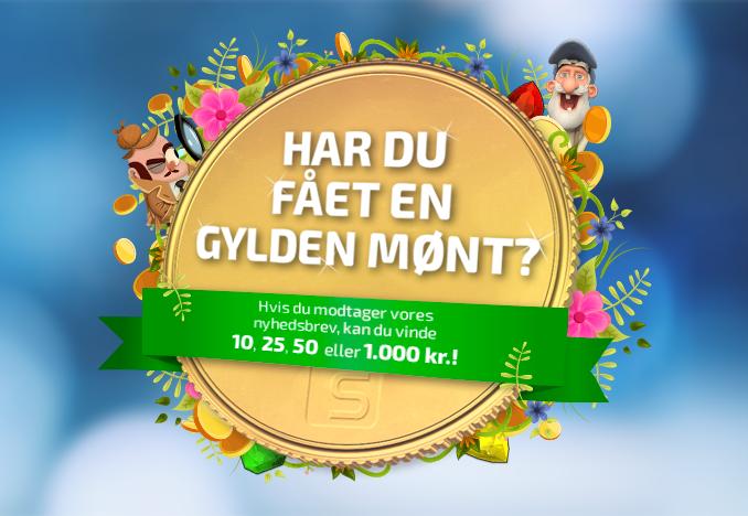 Find Spilnu guldmønter til en værdi op til 1.000 kr. pr. stk.