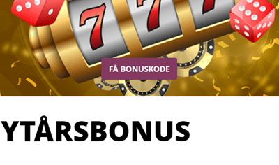 Få 1.000 kr. i bonus med Danske Spil Casino bonuskoden RAKET