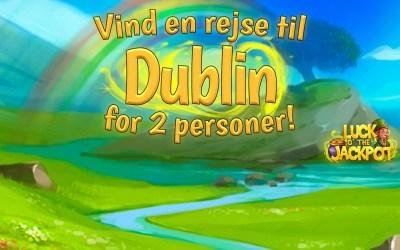 Skt Patricks Day konkurrence – vind rejse til Dublin