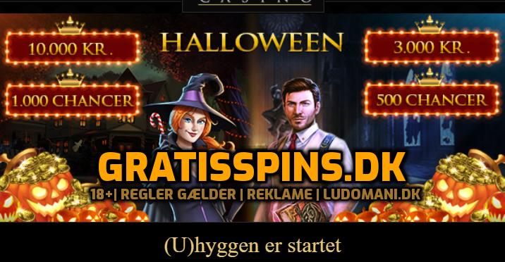 Årets første Halloween gratis spins er landet den 10. oktober 2019