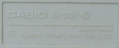 Casio SL-300 (C)