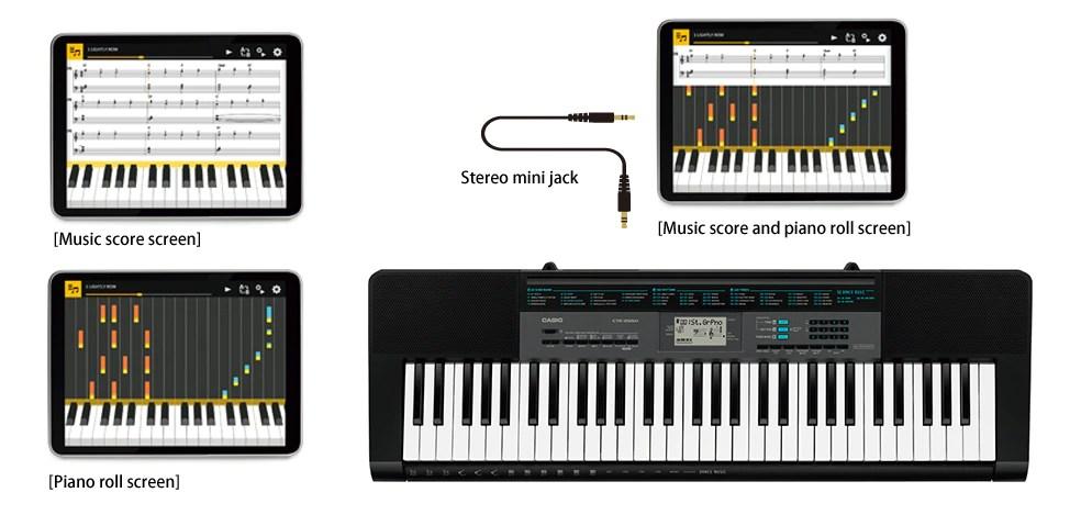CTK2550  Standard Keyboards  Electronic Musical