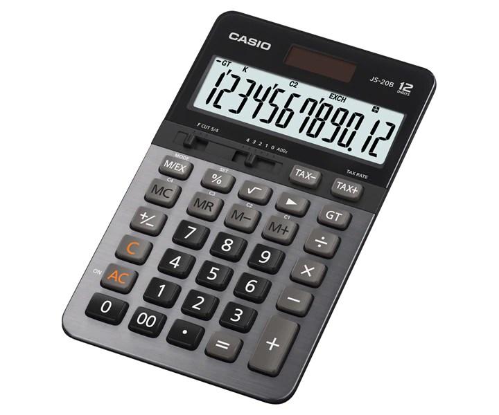 JS20B  HEAVY DUTY Calculators  OFFICE  Calculators  CASIO