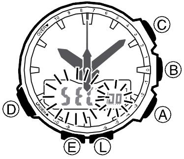 Как настроить часы ProTrek — русская инструкция — Casioblog.RU