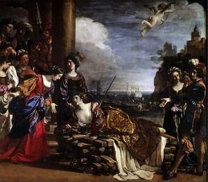 Guercino – La morte di Didone
