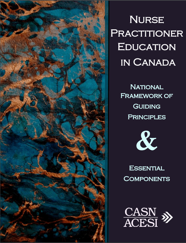 Competency Guidelines  Canadian Association of Schools of Nursing  Association canadienne des