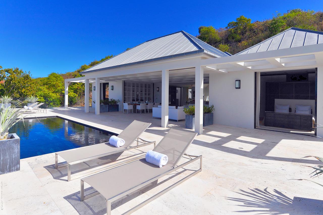 Villa La Petite Sereine Vacances Saint Barth Carabes