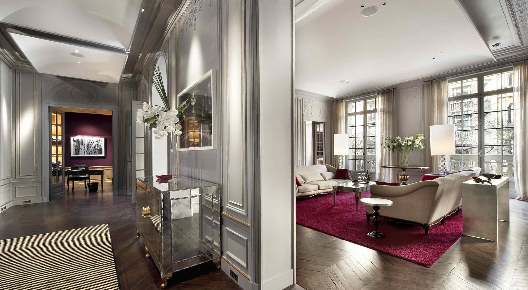 Parisian style bedroom decor for Home decorations paris