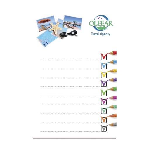 BIC® 101 mm x 152 mm 25 Fogli Adhesive Notepads
