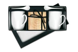 Set caffè con scatola regalo