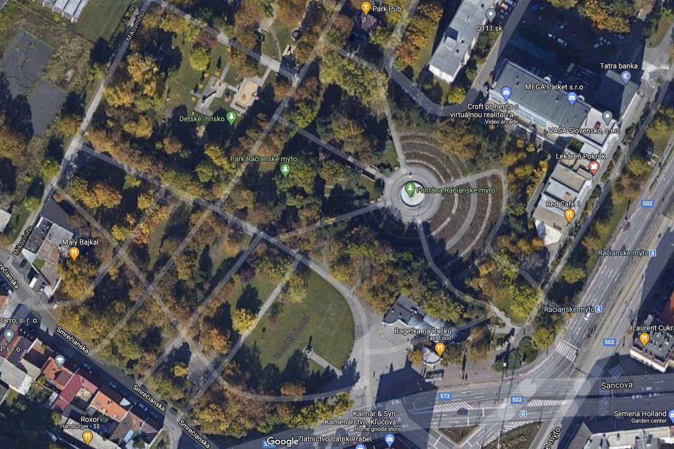 Nové Mesto plánuje zrevitalizovať park na Račianskom mýte za 1,2 milióna eur