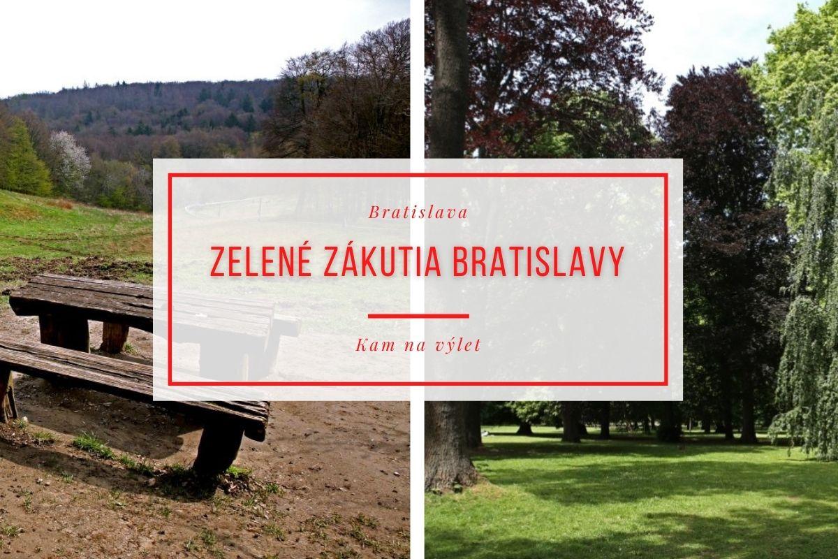 Zelené zákutia Bratislavy