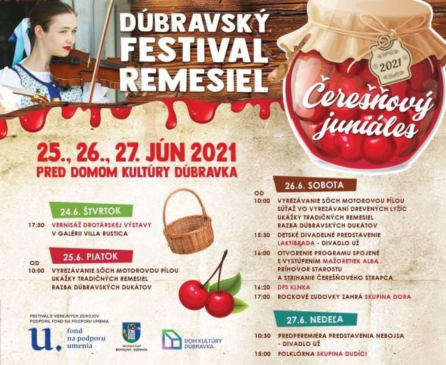 Dúbravský festival remesiel a Čerešňový juniáles