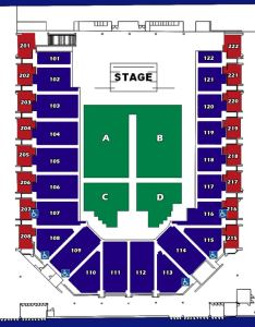 Full house retracted reserved floor no icons  also seating charts casper events center rh caspereventscenter
