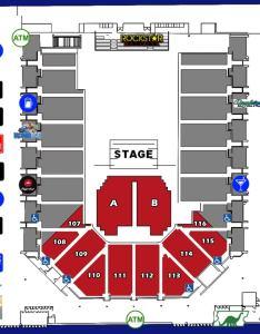 Theater reserved floorg also seating charts casper events center rh caspereventscenter