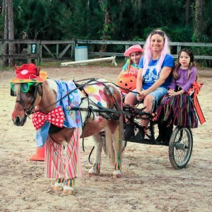 horse riding event, costume contest