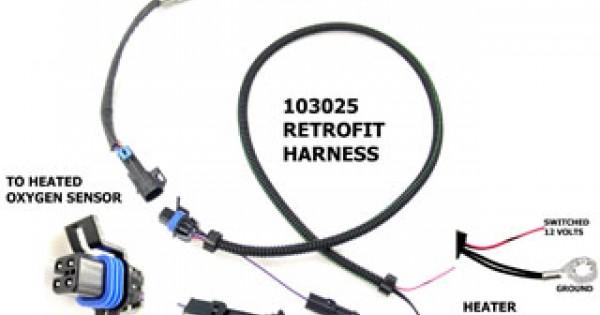Heated O2 Sensor Retro Kit Early 1 Wire GM