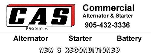 Commercial Alternator and Starter