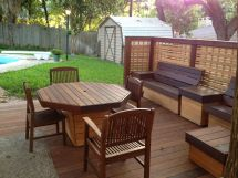 Deck Furniture - Phase Ii