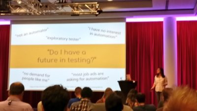 Cassandra Speaking at AgileTD 2017 - 5 Ways Automation is Like Sex