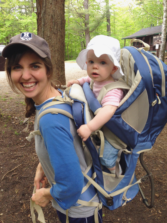 Hiking with a baby  Fine Art Newborn and Family