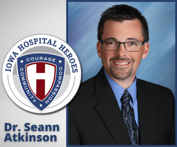 Dr. Atkinson and the Hospital Hero logo