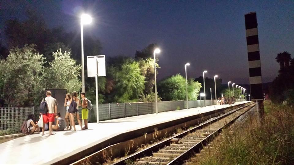 Luce fu alla stazione di Fontane Bianche