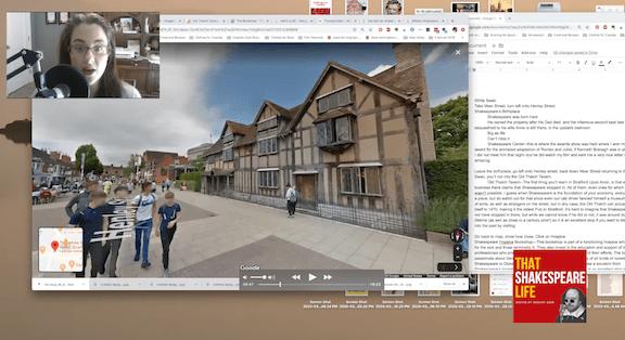 Virtual Tour of Stratford Upon Avon, England