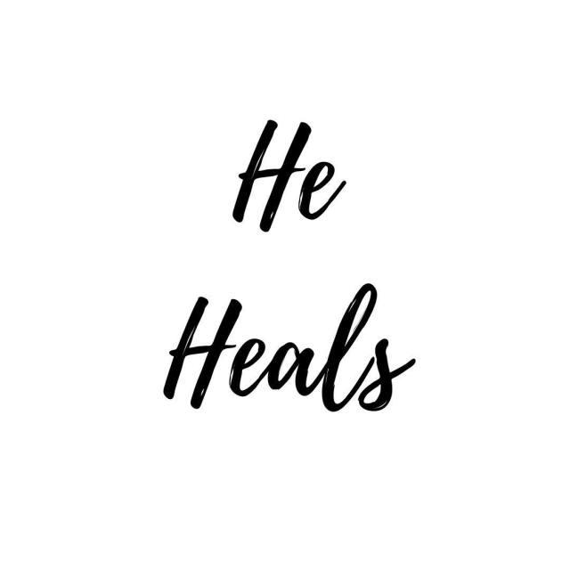 He Heals He heals your broken heart He restores yourhellip