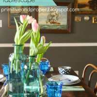 Nautical Spring Tablescape (and West Elm or Target Giveaway from