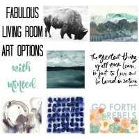 Living Room Art Options