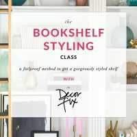 The Bookshelf Styling Class (You Should Go and Love Your Shelf)