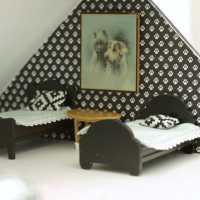 Dollhouse Therapy Month Two: Bedroom Plans