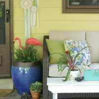 Summer Porch Tour (Blogger Stylin' Home Tours)