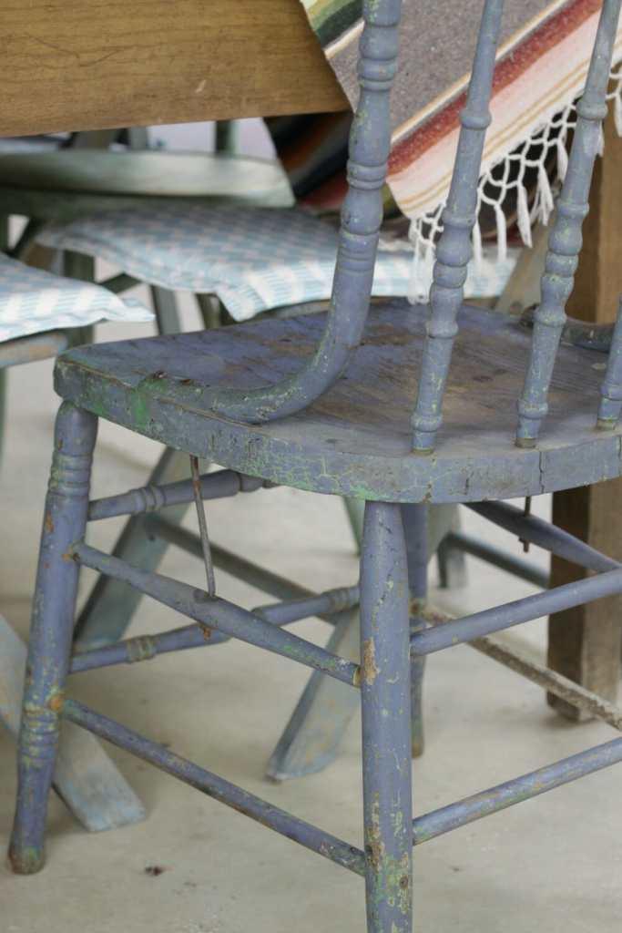Original Paint on Chair