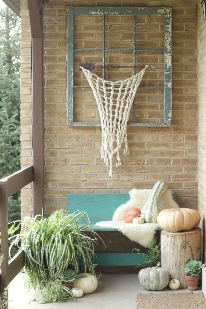 Bohemian Porch Entry