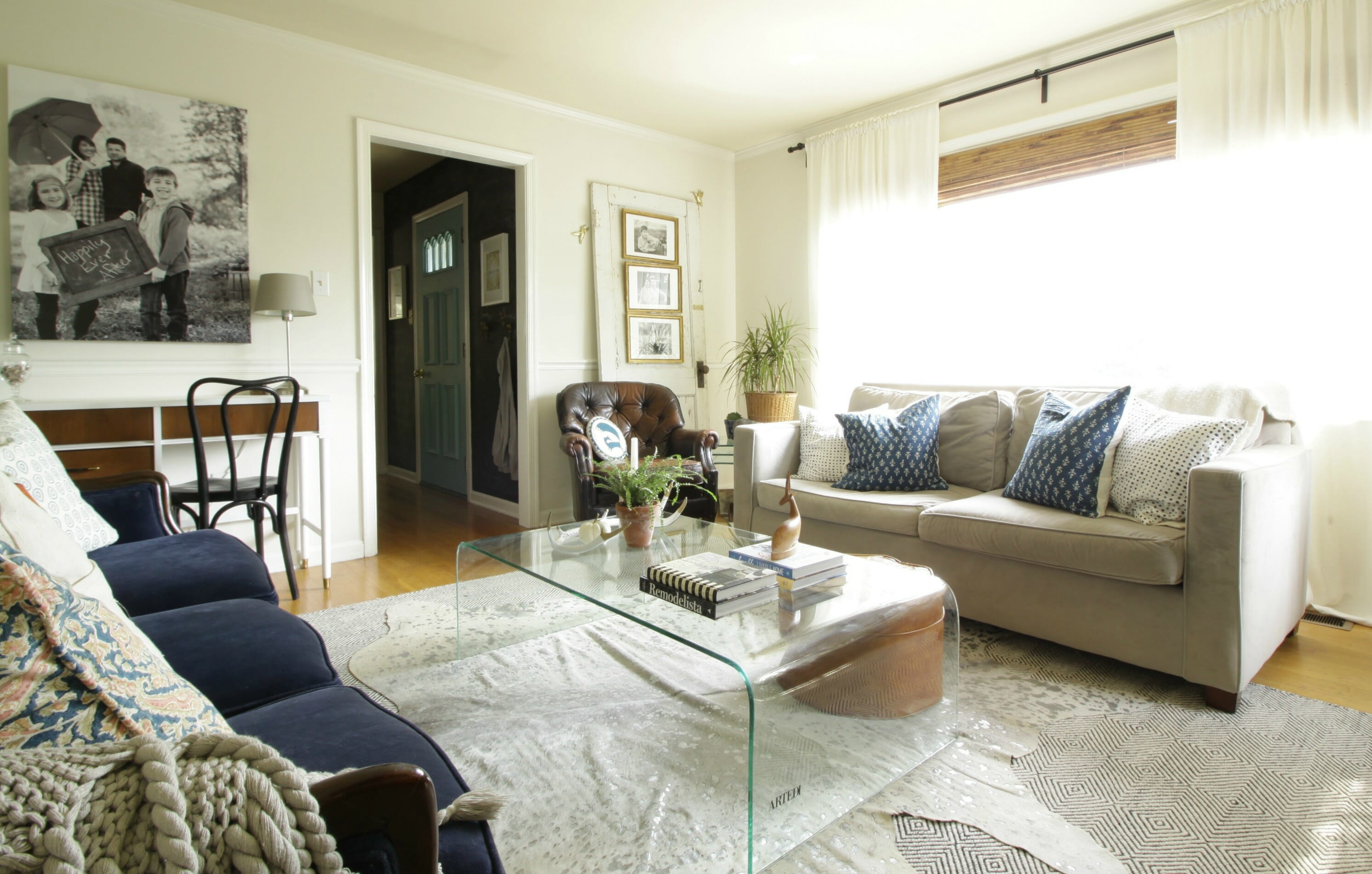 My Home Style Blog Hop: The Evolution of My Living Room ...