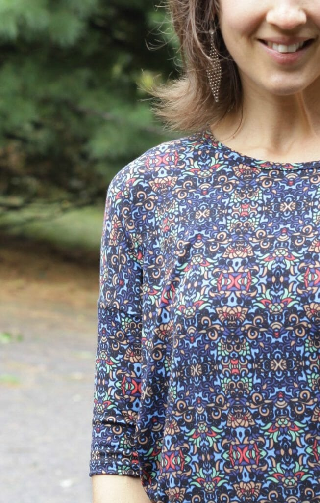 Irma Tunic Fitted Sleeves