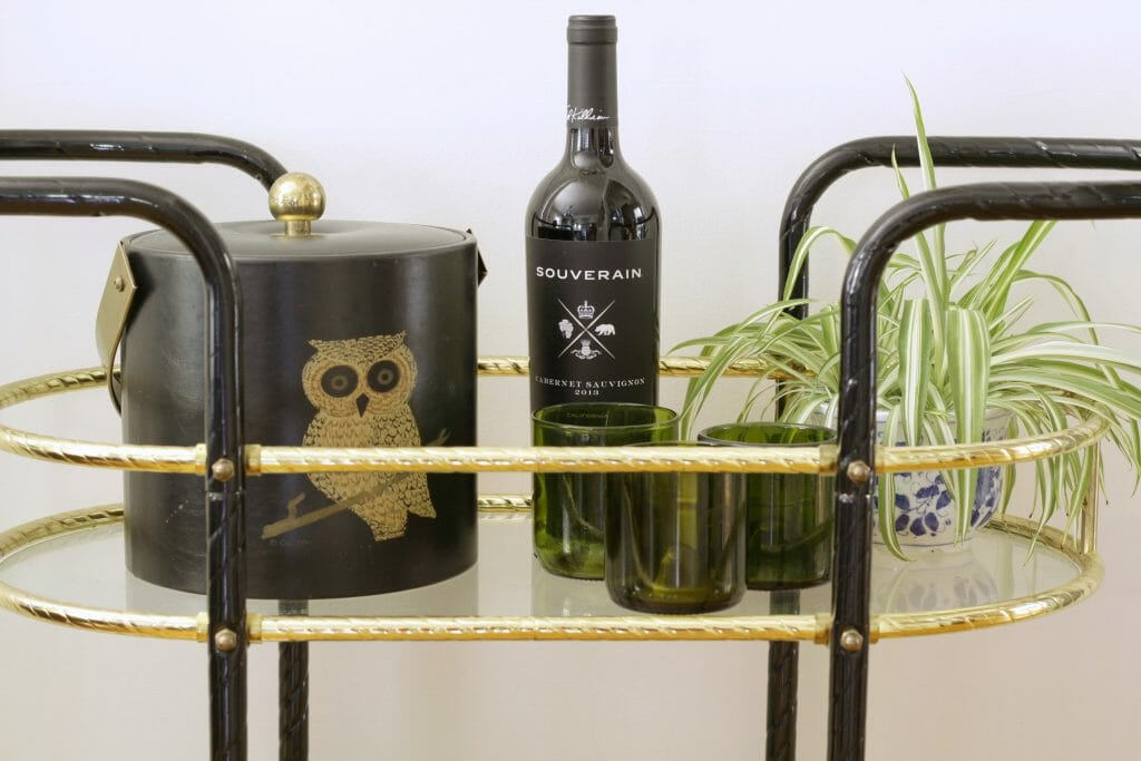 vintage-bar-cart-styling-owl-ice-bucket