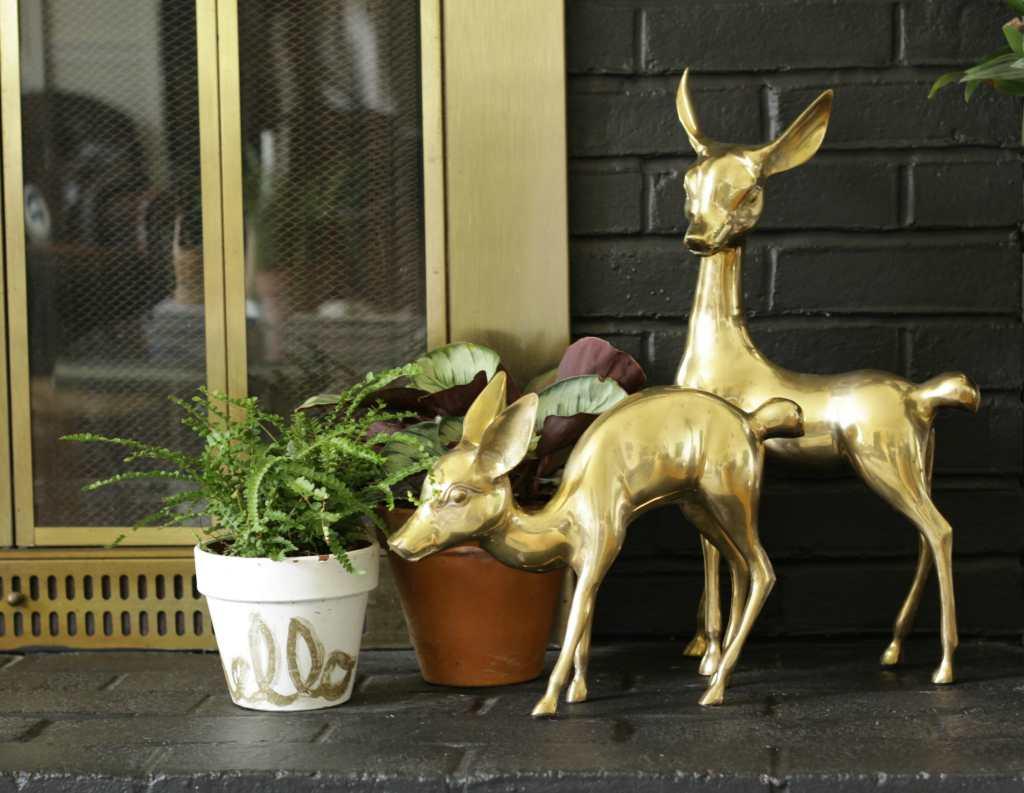 vintage-brass-deer-pair-fireplace