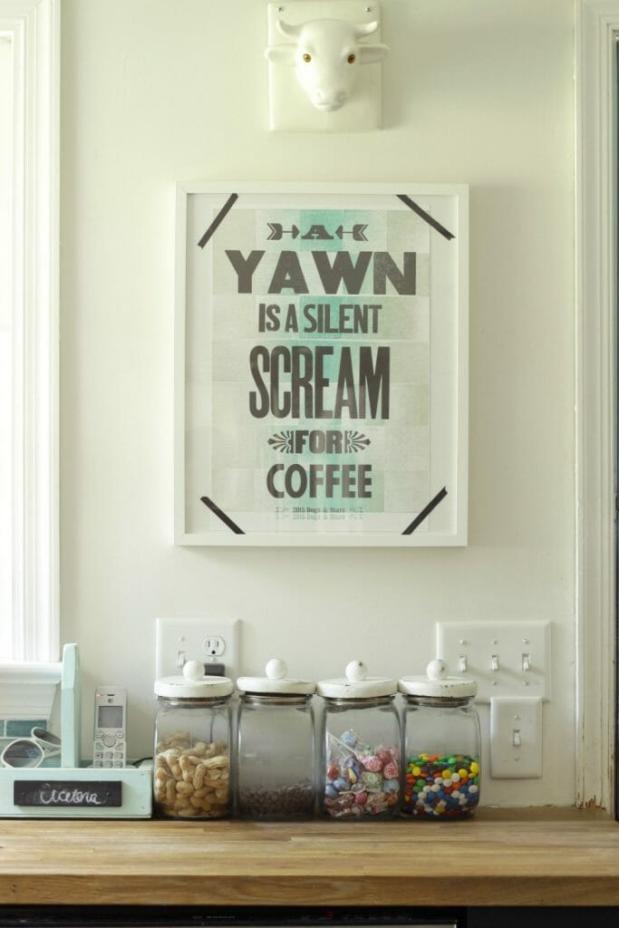 yawn-silent-scream-coffee-poster