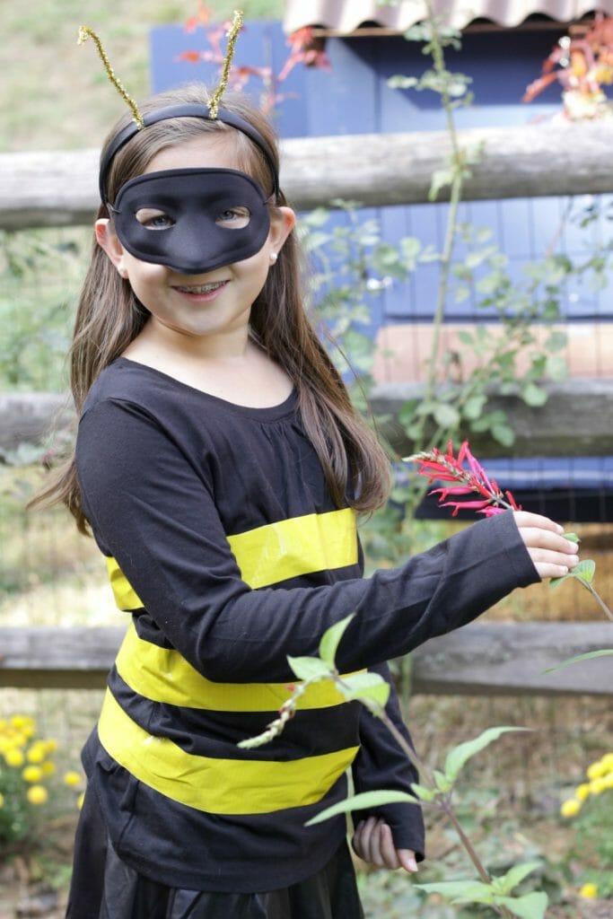 Girls Bumblebee Costume