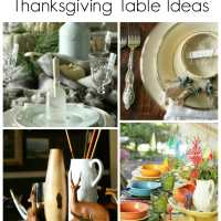 Inexpensive Thanksgiving Table Ideas