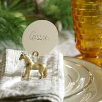 Simple Natural Holiday Tablescape