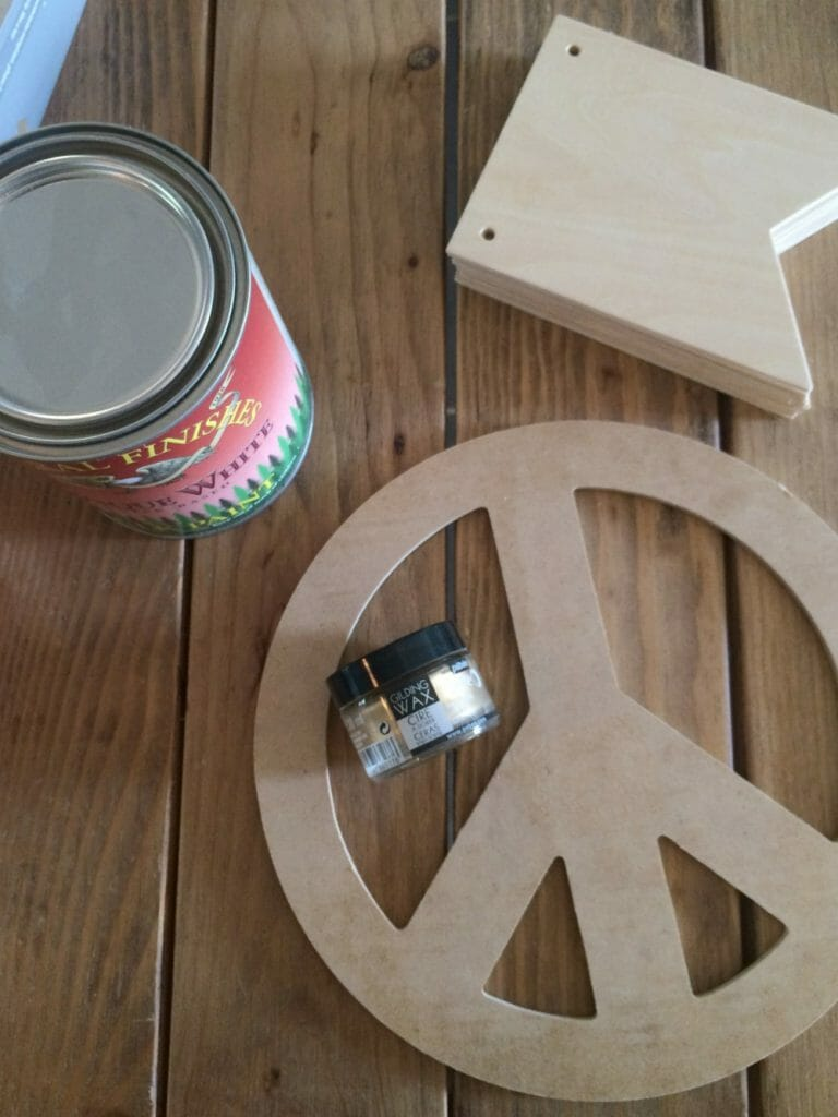Peace Christmas Tree Supplies