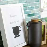 "My Less Breakable French Press & Free ""Keep Pressing O"