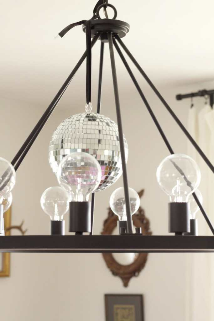 Disco Ball Chandelier
